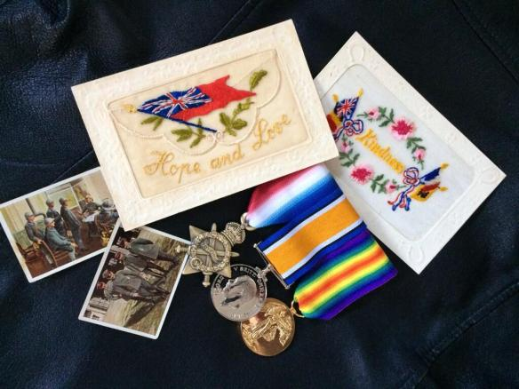 WW1medals&cards
