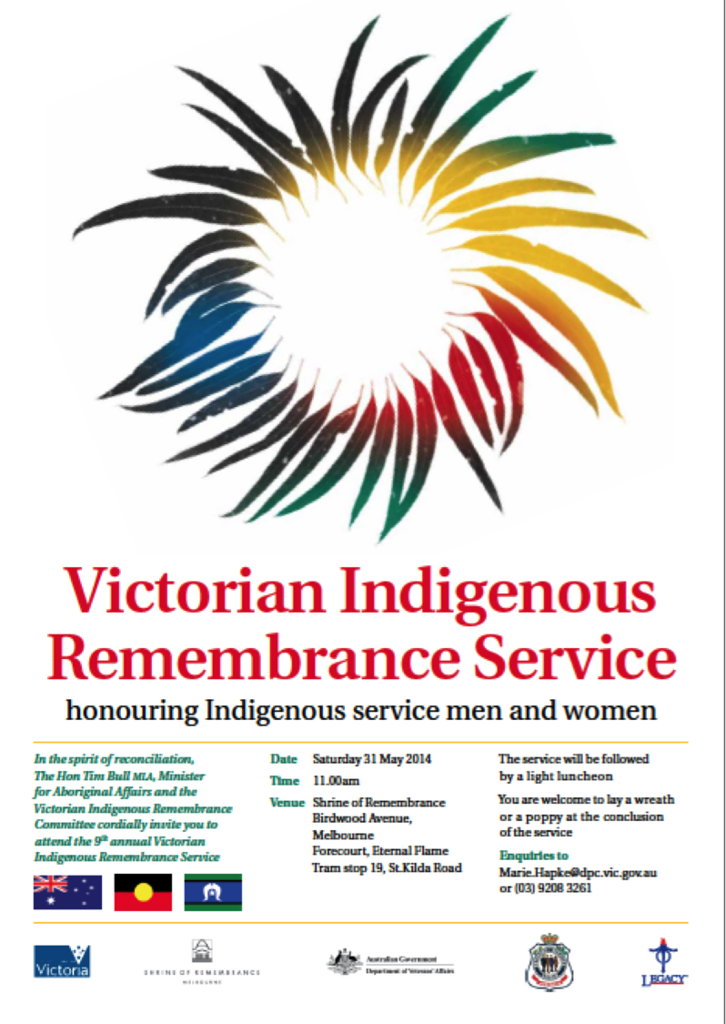 Victorian Indigenous Remembrance Service
