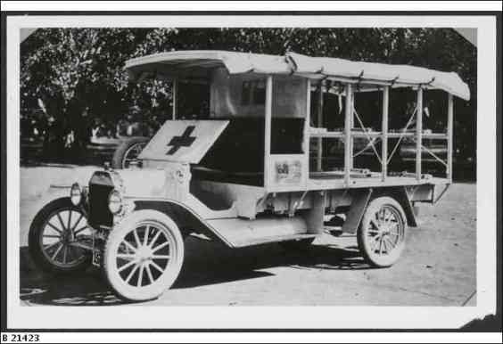 1915 Ambulance SLOSA